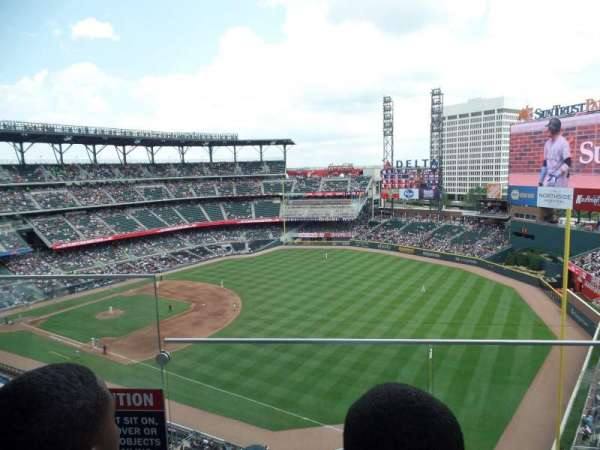 Truist Park, section: 412, row: 2, seat: 31