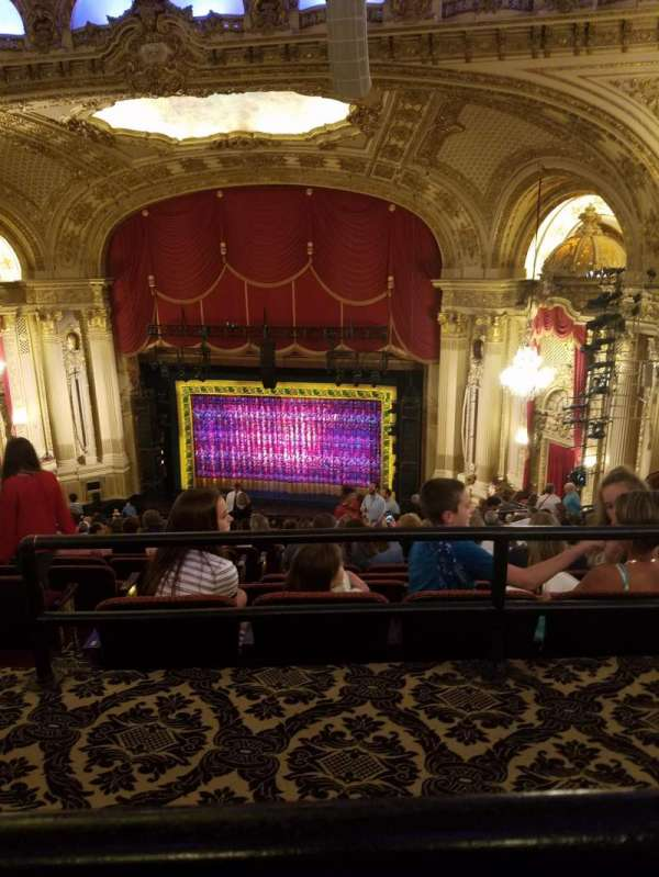 Boston Opera House, section: Balcony, row: P, seat: 24