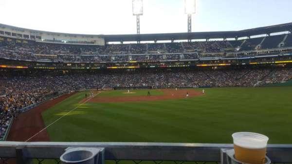 PNC Park, section: 144, row: A, seat: 17