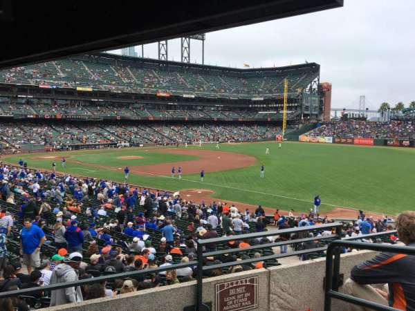 Oracle Park, section: 152, row: 3, seat: 15