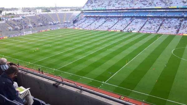 Croke park, section: 728, row: D, seat: 26