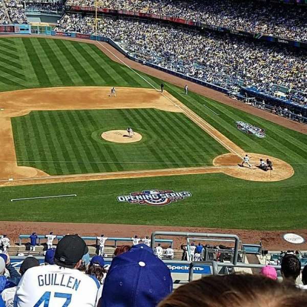 Dodger Stadium, section: 19RS, row: G, seat: 2