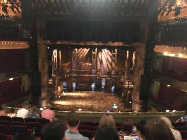 CIBC Theatre, section: Mezzanine RC, row: H, seat: 302