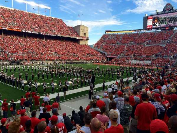 Ohio Stadium, section: 15AA, row: 11, seat: 3