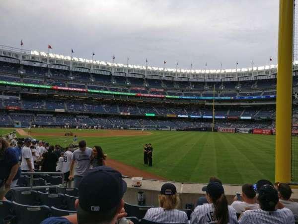 Yankee Stadium, section: 108, row: 6, seat: 4