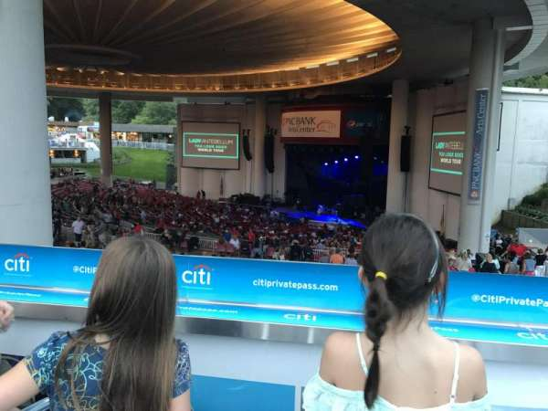 PNC Bank Arts Center, section: South Deck