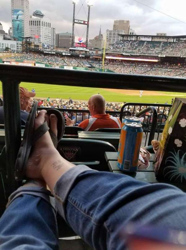 Comerica Park, section: 138A, row: C, seat: 2