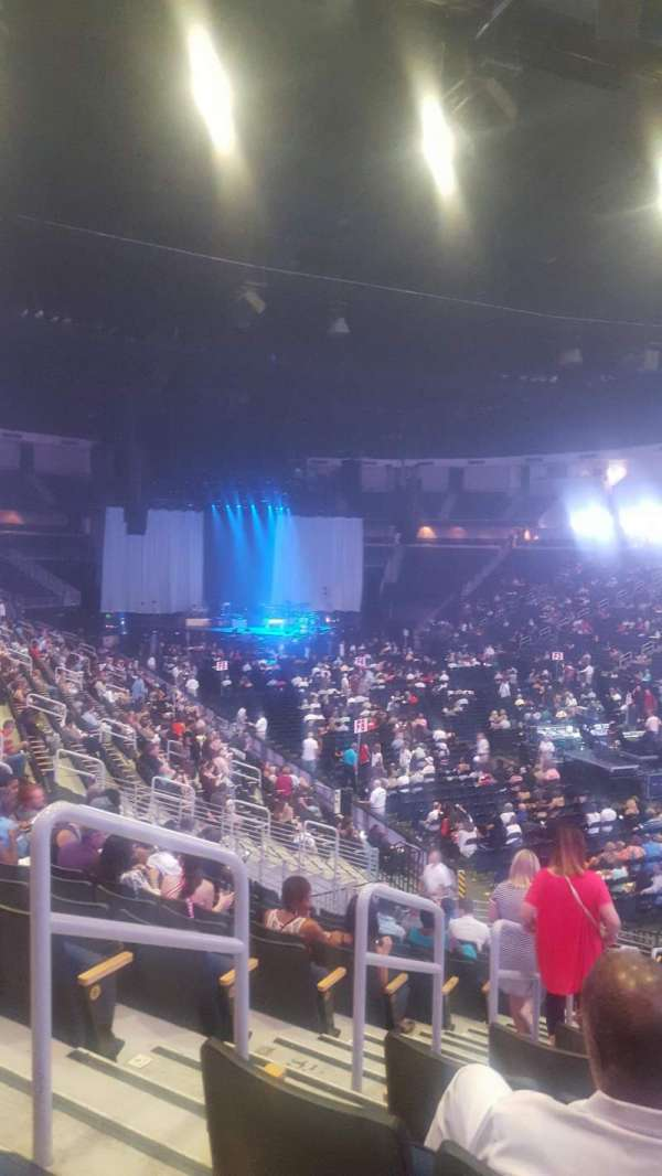 Infinite Energy Arena, section: 122, row: V, seat: 36
