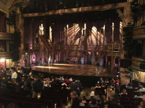 Richard Rodgers Theatre, section: Orchestra R, row: P, seat: 10