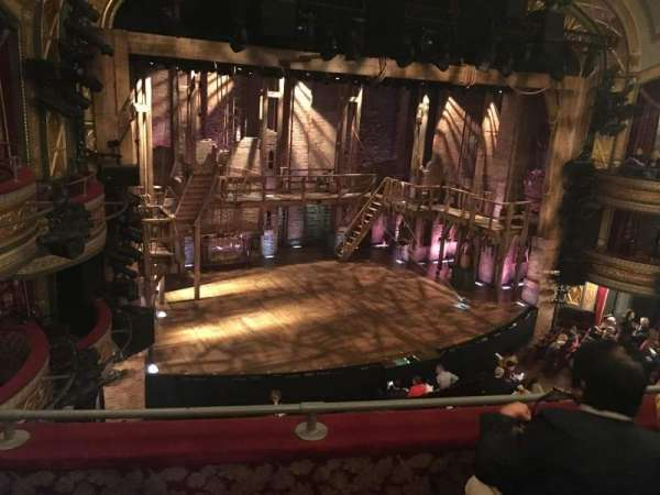Richard Rodgers Theatre, section: Front Mezzanine L, row: C, seat: 19