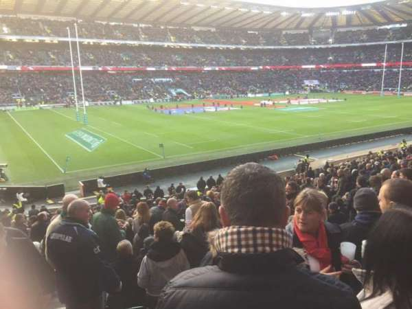 Twickenham Stadium, section: L29, row: 30, seat: 349