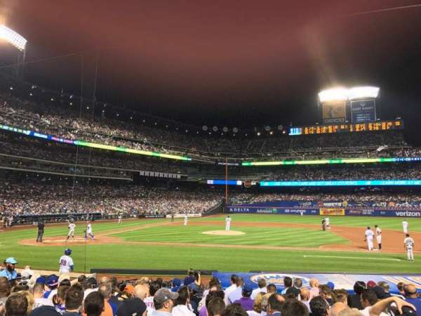 Citi Field, section: 114, row: 11, seat: 11