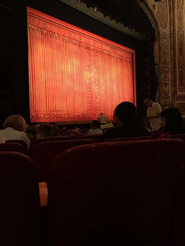 Cadillac Palace Theater, section: Orchestra L, row: L, seat: 25