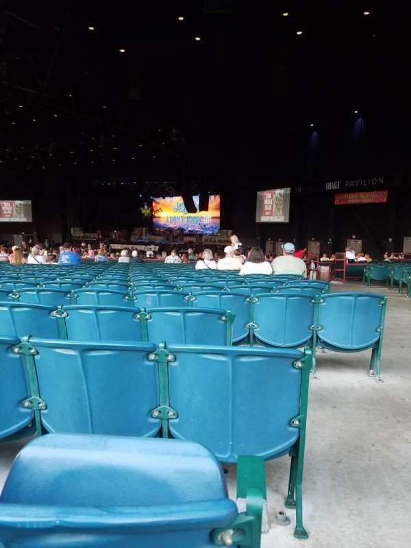 BB&T Pavilion, section: 201, row: W, seat: 37