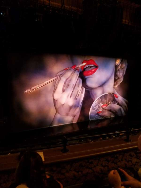 Nederlander Theatre, section: Mezzanine L, row: C, seat: 9