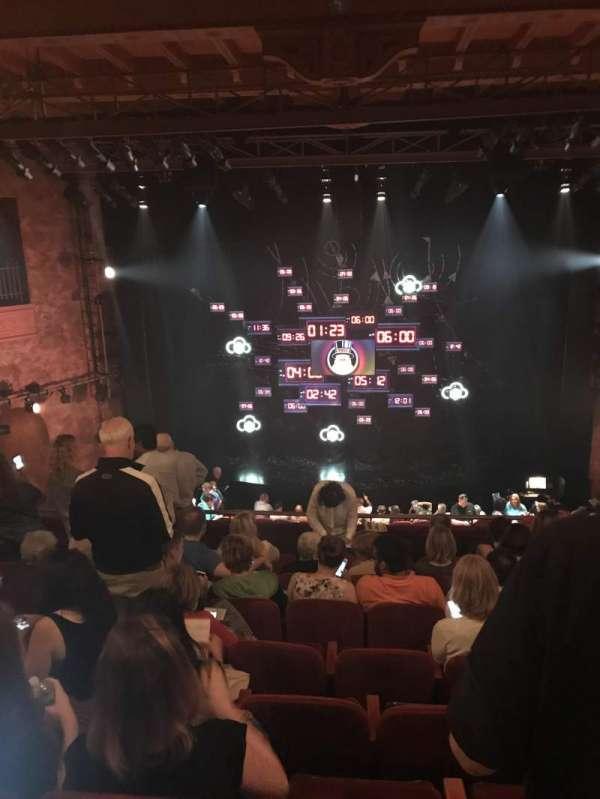 August Wilson Theatre, section: Mezz, row: H, seat: 108
