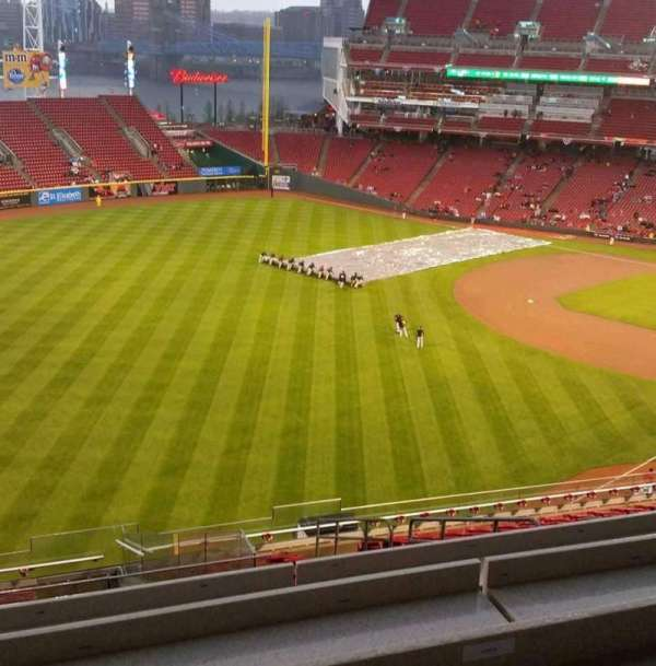 Great American Ball Park, section: Fioptics District, row: SRO