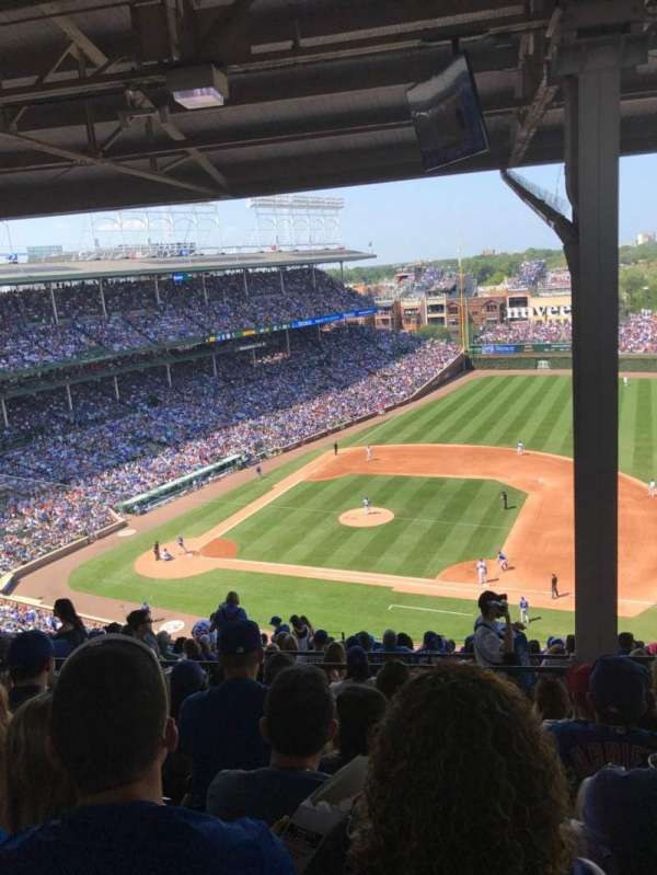 Wrigley Field, section: 425R, row: 7, seat: 11