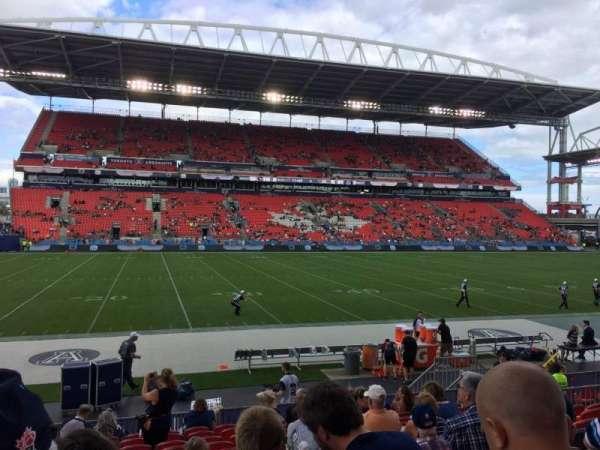 BMO Field, section: 125, row: 12, seat: 21