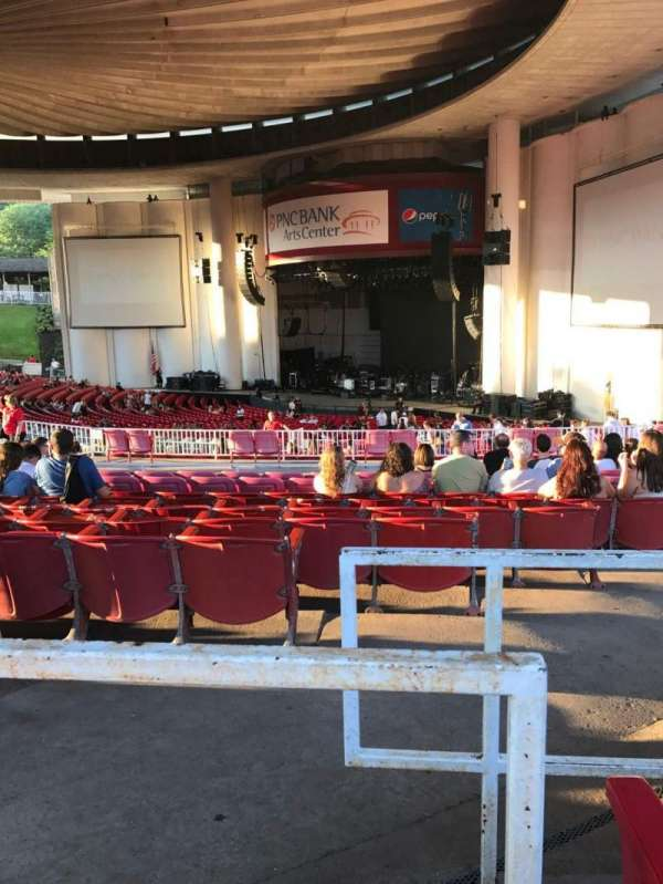 PNC Bank Arts Center, section: 401, row: F, seat: 4