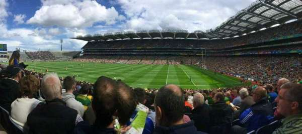 Croke Park, section: 328, row: FF, seat: 10