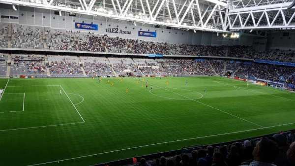 Tele2 Arena, section: B304, row: 11, seat: 213