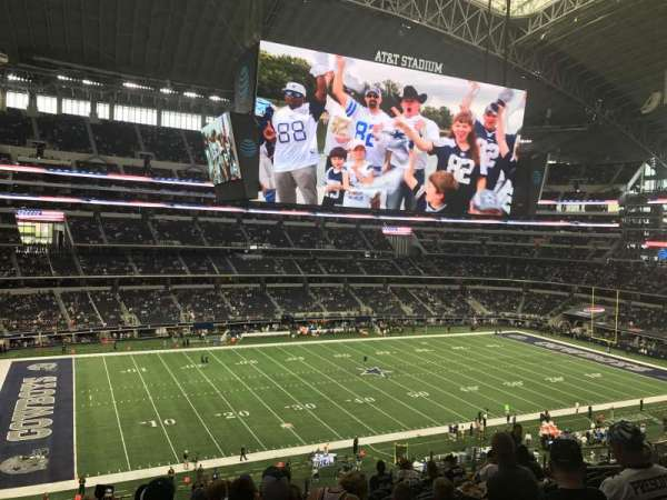 AT&T Stadium, section: C313, row: 13, seat: 12