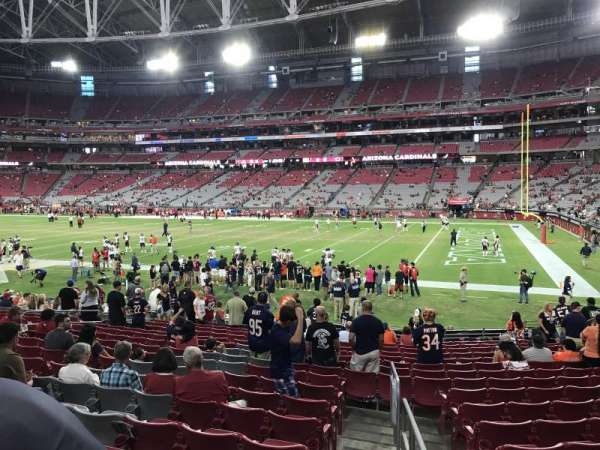 State Farm Stadium, section: 103, row: 24, seat: 13