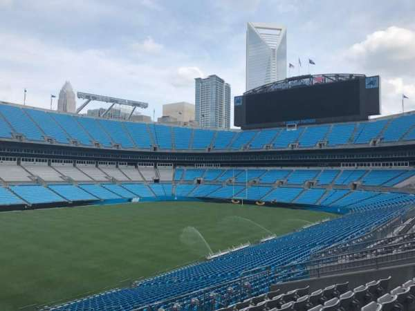 Bank of America Stadium, section: 349, row: 8, seat: 2