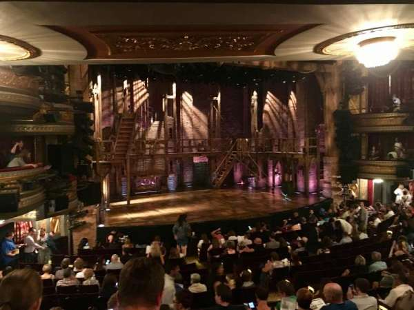Richard Rodgers Theatre, section: Orchestra L, row: R, seat: 17-19