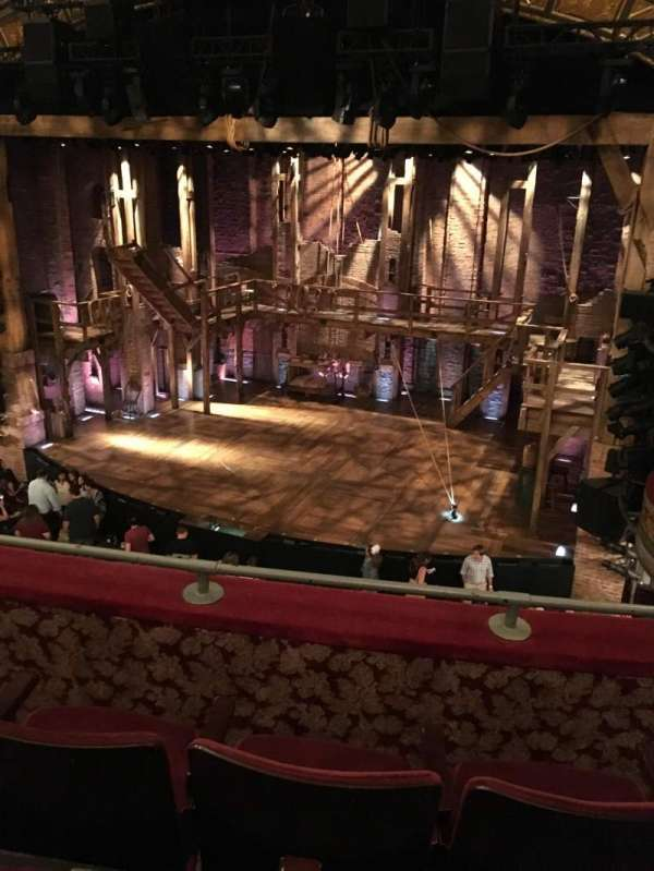 Richard Rodgers Theatre, section: Front Mezzanine R, row: C, seat: 10