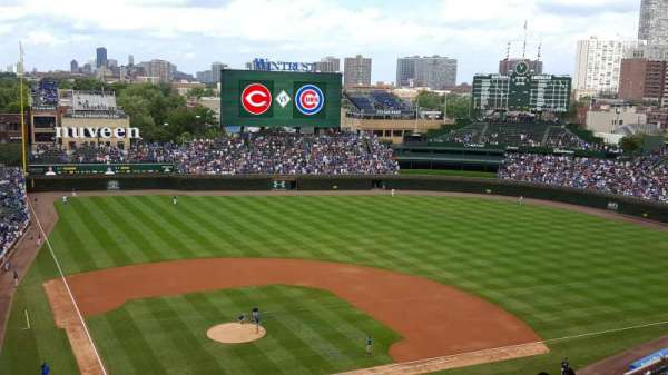 Wrigley Field, section: 421R, row: 6, seat: 6