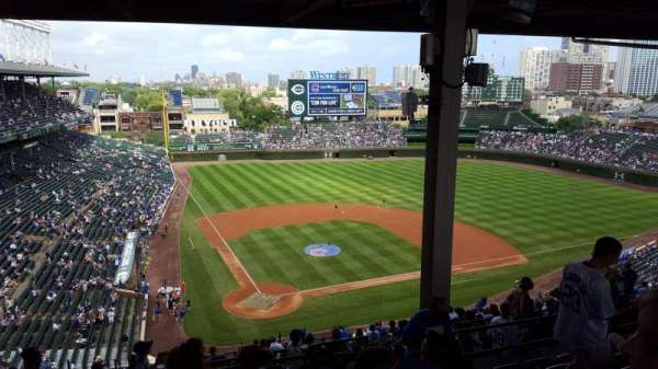 Wrigley Field, section: 420R, row: 7, seat: 17