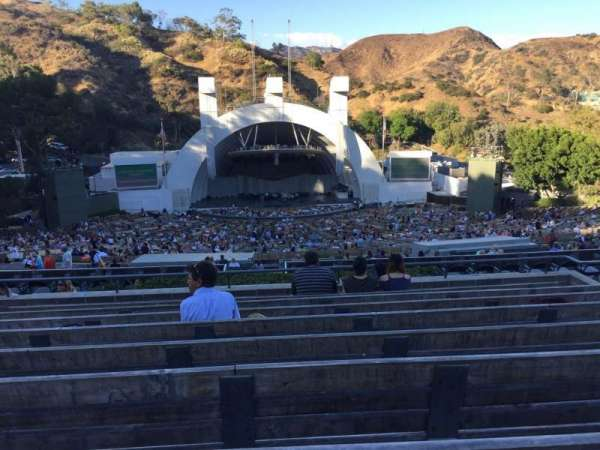 Hollywood Bowl, section: N1, row: 9, seat: 22