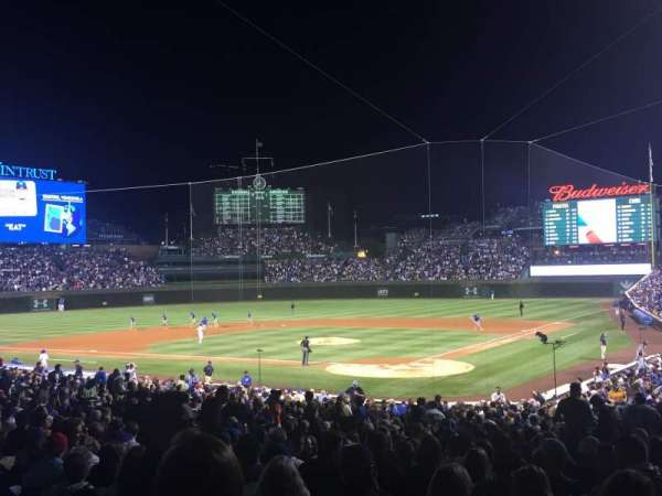 Wrigley Field, section: 216, row: 3, seat: 4