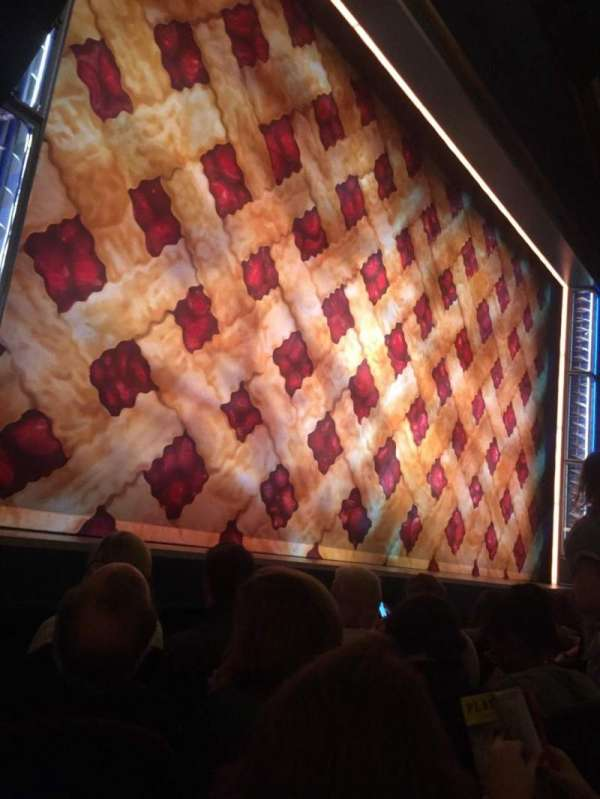 Brooks Atkinson Theatre, section: Orchestra L, row: C, seat: 13