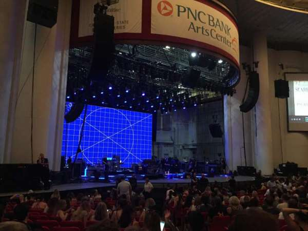 PNC Bank Arts Center, section: 104, row: S, seat: 5
