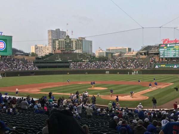 Wrigley Field, section: 215, row: 5, seat: 19