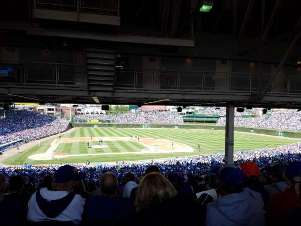 Wrigley Field, section: 222, row: 22, seat: 13