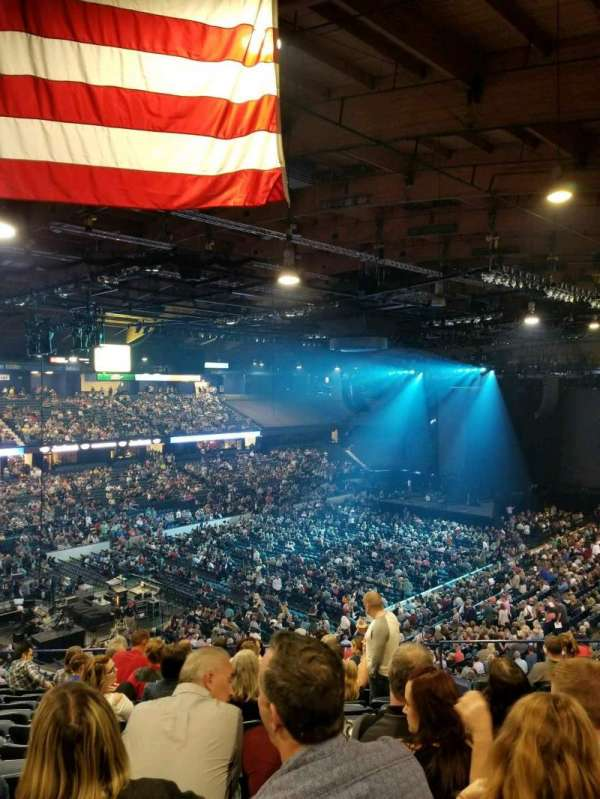 Allstate Arena, section: 213, row: m, seat: 23