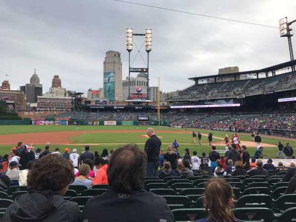 Comerica Park, section: 133, row: 20, seat: 9