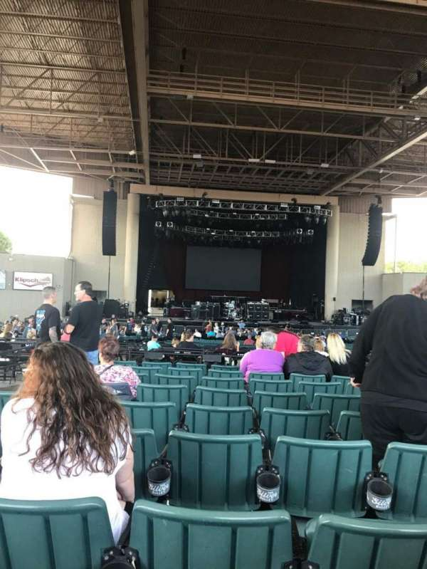 Ruoff Home Mortgage Music Center, section: F, row: N, seat: 4
