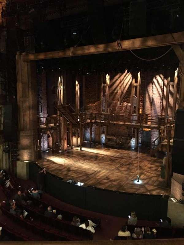 CIBC Theatre, section: Mezzanine R, row: A, seat: 2