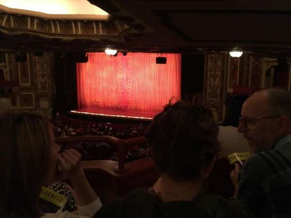 Cadillac Palace Theater, section: Dress Circle R, row: MM, seat: 16