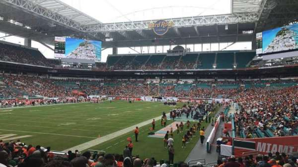 Hard Rock Stadium, section: 129, row: 17, seat: 17