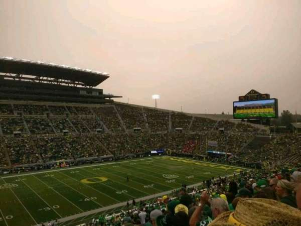 Autzen Stadium, section: 16, row: 60, seat: 15
