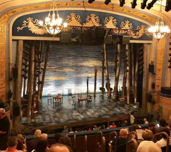 Gerald Schoenfeld Theatre, section: Mezzanine L, row: H, seat: 7