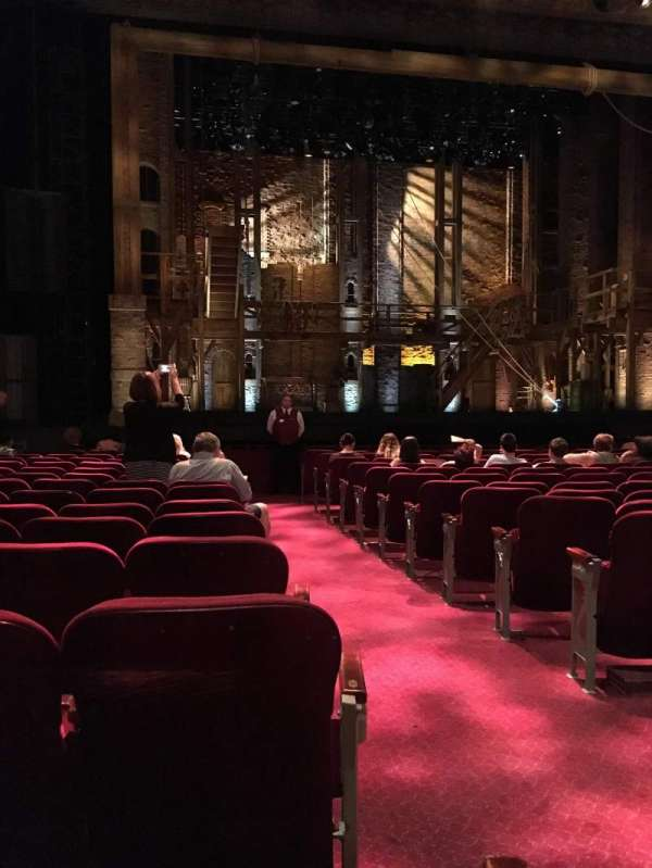 Hollywood Pantages Theatre, section: Orchestra LC, row: P, seat: 301
