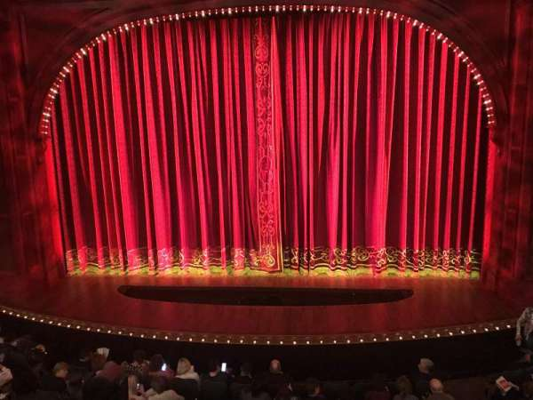 Shubert Theatre, section: Mezzanine C, row: A, seat: 105