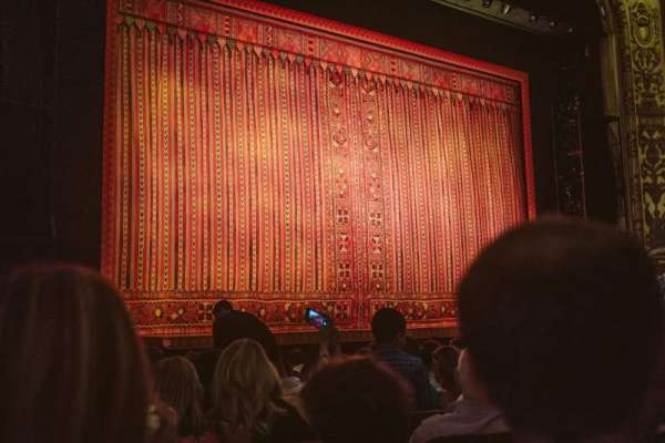 Cadillac Palace Theater, section: Orchestra L, row: M, seat: 19